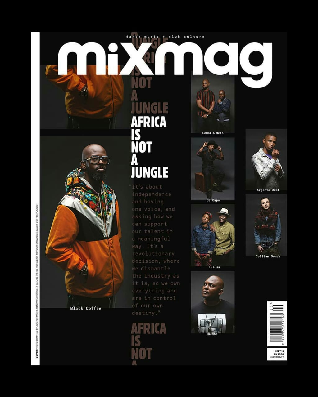 A Look at Kususa and Argento Dust in MixMag, Curated by Black Coffee